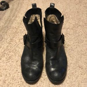 Michael Kors Moto boots black 9m